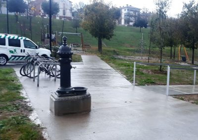 Mejora de accesibilidad – Parque Malatosquer