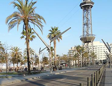 Urbanización del muelle – Barcelona